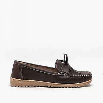 Amblers Elba Dames Loafers Brown