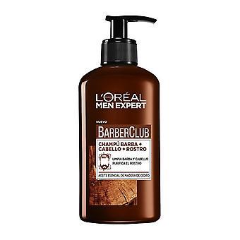 Beard Shampoo män expert Barber Club L ' oreal make up (200 ml)