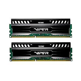 Patriot Memory Viper 3 Black Mamba DDR3 1600 16GB (2x8GB) C10 Kit Memoria Gaming XMP 1.3 Nero PV316G160C0K