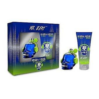 Policja być Pan Beat Gift Set 40ml EDP + 100ml żel pod prysznic