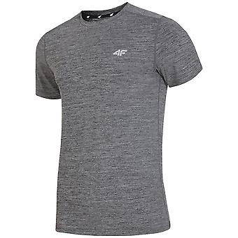 4F H4L19 TSMF002 H4L19TSMF002REDNISZARYMELAN universele zomer mannen t-shirt