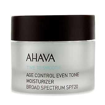 Time to smooth age control even tone moisturizer spf 20 50ml/1.7oz