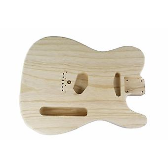 Hosco Replacement Telecaster Premium One Piece Ash Body, 50's Style Sanded