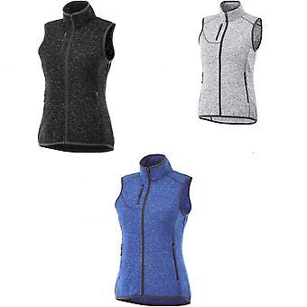 Elevate Womens/Ladies Fontaine Knit Bodywarmer