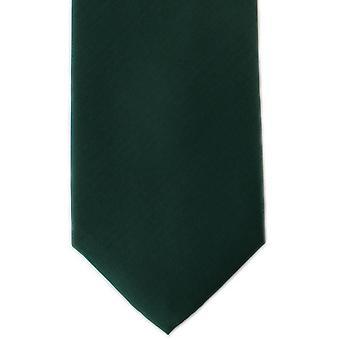 מייקלסון של לונדון פליין פלוסטר עניבה-ירוק