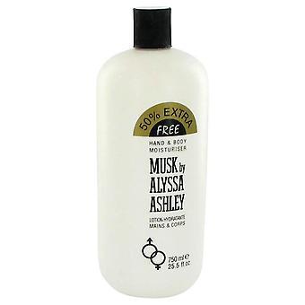 Alyssa Ashley Musk loção corporal por Houbigant 25,5 oz Loção