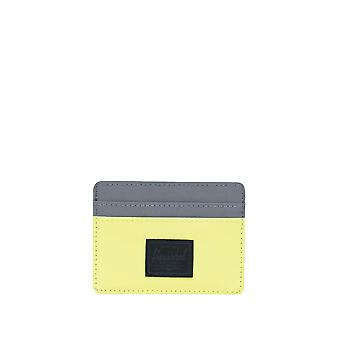 Herschel Supply Co. Unisex Charlie Wallet Neon -Silver 10Cm