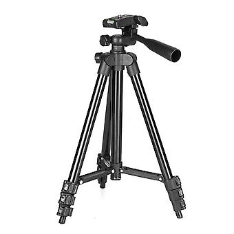 Stretchable mini folding tripod stand holder aluminum alloy live selfie stick for sports camera phone