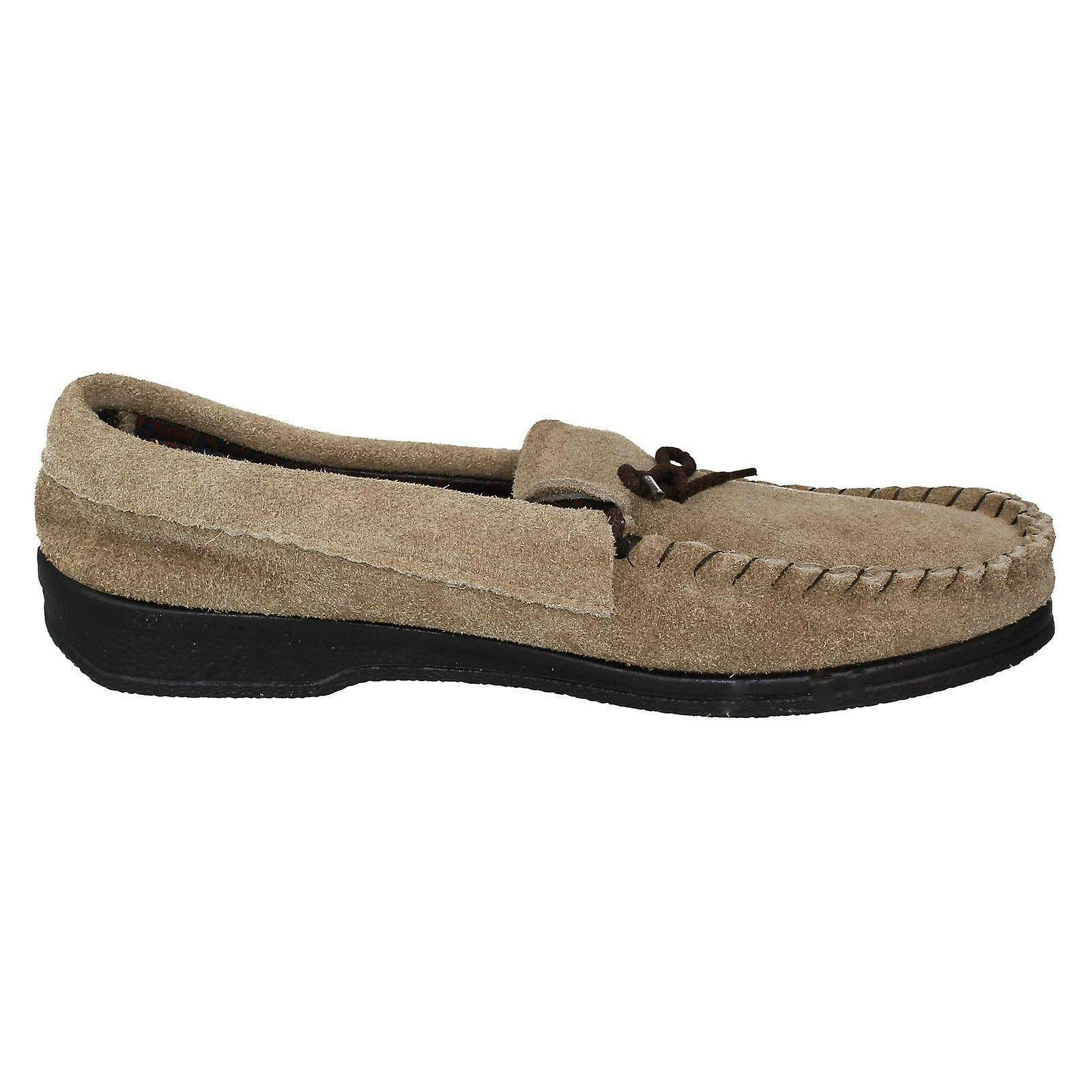 Mens Spot sur Moccasin Slippers