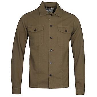 Portuguese Flannel Champ Olive Overshirt