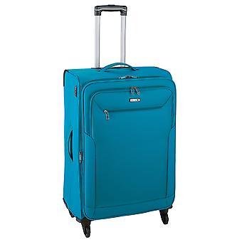 d&n Travel Line 6804 Trolley M, 4 wielen, 66 cm, 63 L, turquoise