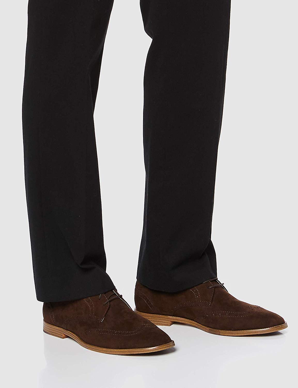 Marque - Trouver. Chaussures De Brogue Suede-look