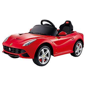 Rastar Ferrari F12 12-Volt Baterie-Powered Ride-On, červená