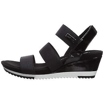 Anne Klein Women's Shoes Summertime Fabric Open Toe Casual Platform Sandals