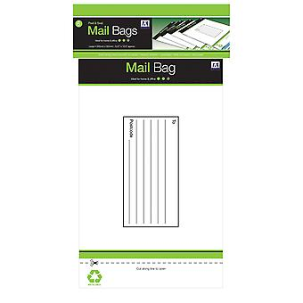 Anker Plastic Mailing Bags (Pack Of 6)