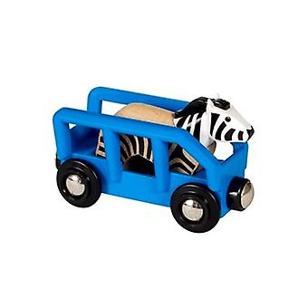 BRIO Safari Zebra & Wagon 33967 accessory for Wooden Train Set