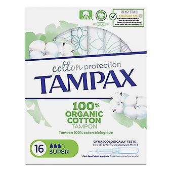Super Tampons ORGANIC Tampax (16 uds)