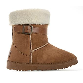 Girl's Henleys Children Monroe Boot in Brown