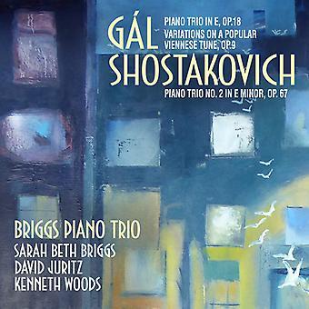 Shostakovich / Woods - Piano Trio in E 18 [CD] USA import