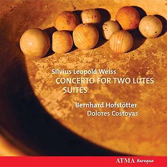 二つのルーツのための s. l. ヴァイス - そのレオポルド ヴァイスシュヴァルツ: 協奏曲スイーツ [CD] 米国をインポートします。