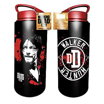 The Walking Dead Water Bottle Drink Daryl Walker Hunter new Official Aluminium