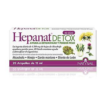 Hepanat Detox 20 ampullen