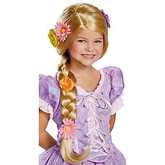 Rapunzel Tangled Disney Princess Deluxe Prestige Girls Costume Wig