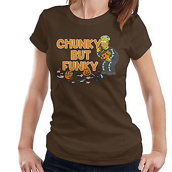 The Simpsons chunky men funky Halloween Homer kvinder ' s T-shirt