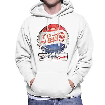Pepsi Cola More Bounce To The Ounce Men's Hooded Sweatshirt