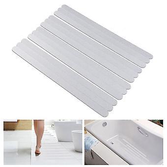 Bath Safety Anti Slip Strips Shower Stickers - Transparent Non-stickers