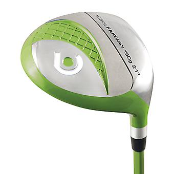 MKids Pro Junior Fairway Wood Left Hand Green 9-11 Years