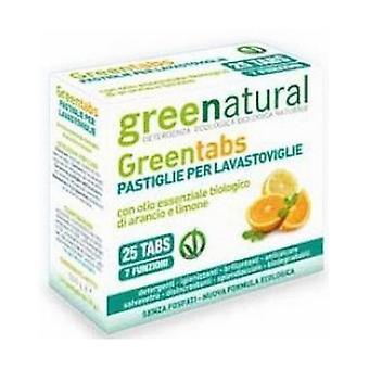 Greentabs for Dishwashers 25 pellets