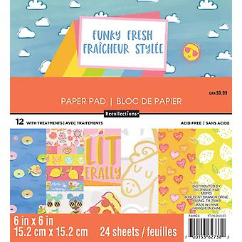 Craft Smith Funky Fresh 6x6 Inch Paper Pad