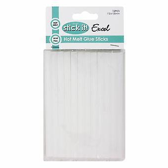 Docrafts Stick It! Hot Melt Glue Sticks (12pk) (STI 8001)