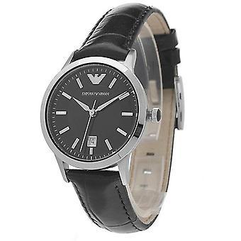 Emporio Armani AR2412 Leather Strap Women's Watch