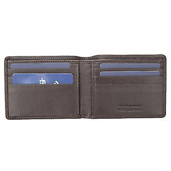 Primehide Mens Slim Leather Wallet RFID Blocking Gents Card Holder Notecase 3101