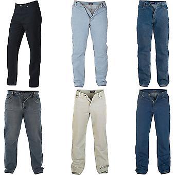 D555 Rockford Mens Comfort Big Tall King Size Casual Denim Jeans Pants