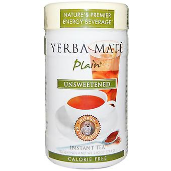 Wisdom Natural, Wisdom of the Ancients, Yerba Mate Plain, Unsweetened, Instant T