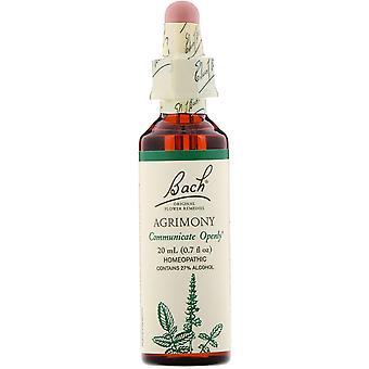Bach, Original Flower Remedies, Agrimony, 0.7 fl oz (20 ml)