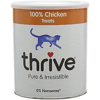 Gedeihen Katze behandelt 100% Huhn - 200g