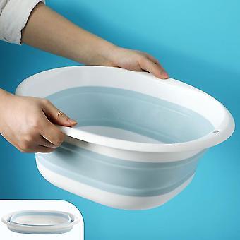 ポータブル家庭用プラスチック折りたたみ洗面器洗面器ランドリータブバスルームキッチン