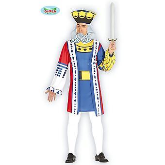 Roi de jeu de cartes Poker de costume costume mens carte costume roi