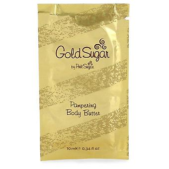 Gold Sugar Body Butter Pouch By Aquolina 0.34 oz Body Butter Pouch
