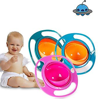 360 Roter Baby Spill Proof Bowl Feeding Dish - Universal Food Grade Pp Retter