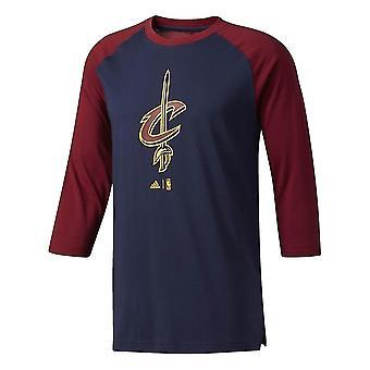 Adidas Nba Cleveland Cavaliers B45477 univerzálny po celý rok muži t-shirt