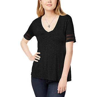 Bar III | Boho Sunset Short Sleeve Illusion Varsity T-Shirt