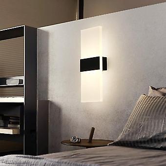 Led Seinävalo 220v 110v Makuuhuone Bedside Light Olohuone Parveke Käytävä Seinä