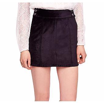 Free People | Retro Velvet Mini Skirt