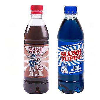 Slush Puppie Cola + Blå Sirap Set