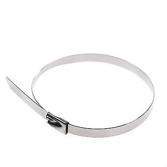 Stainless Steel Metal Cable Tie Zip Wrap - Exhaust Heat Straps For Induction